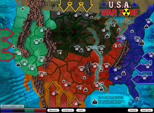 Screenshot: USA War Zone Map