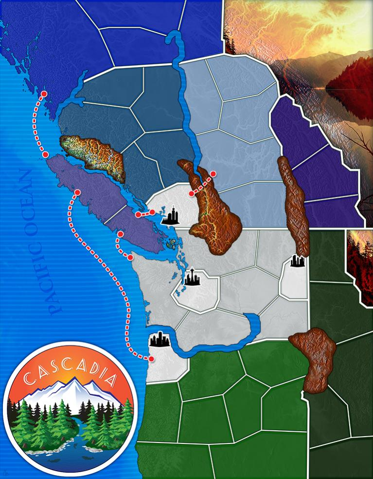 Cascadia Hd Map