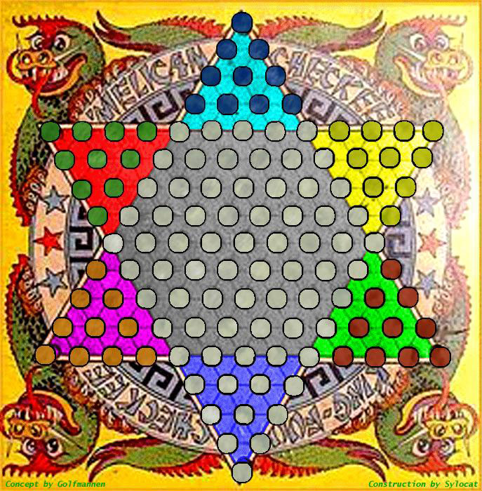 Ancient chinese checkers