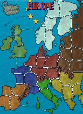 Europe Mini Map