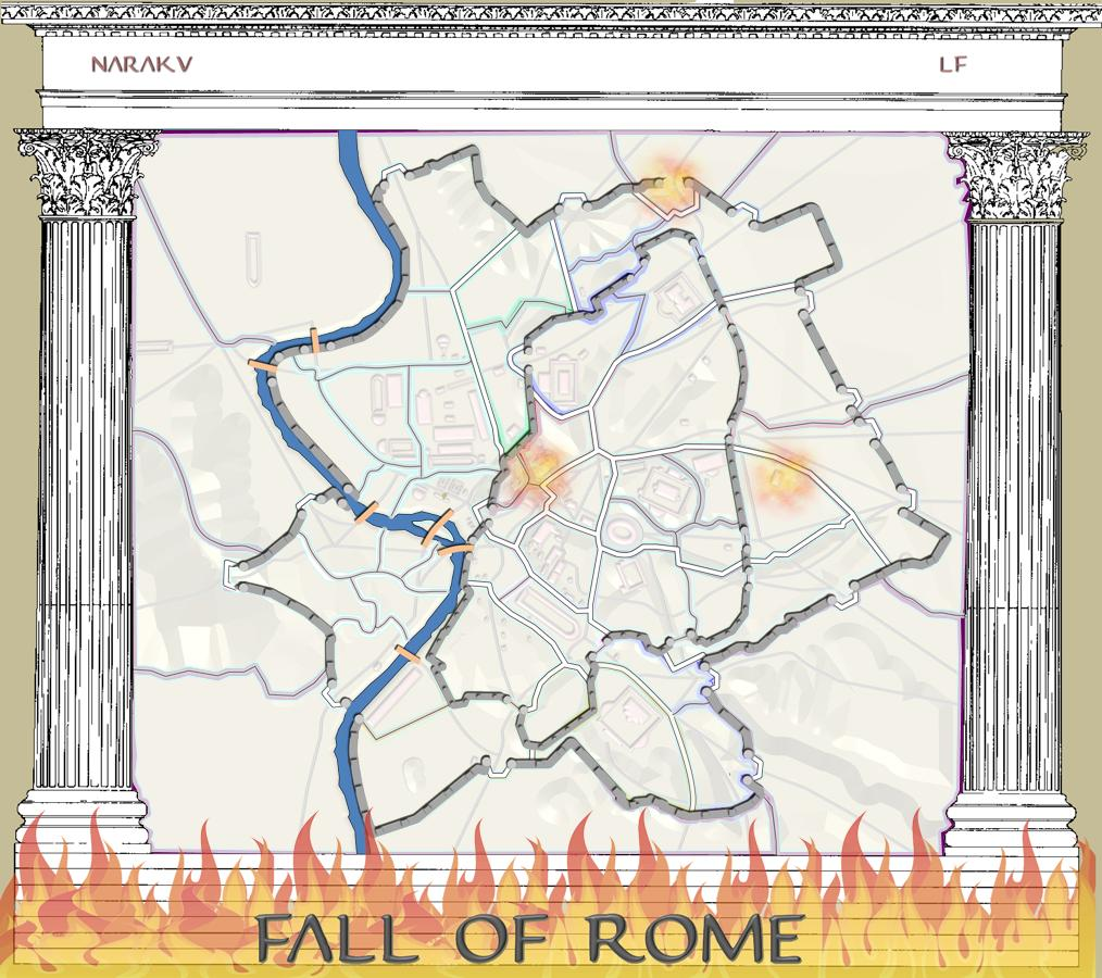 the fall of rome Church history the fall of rome early church history, part 16 by dr jack l arnold introduction the fall of mighty rome in.