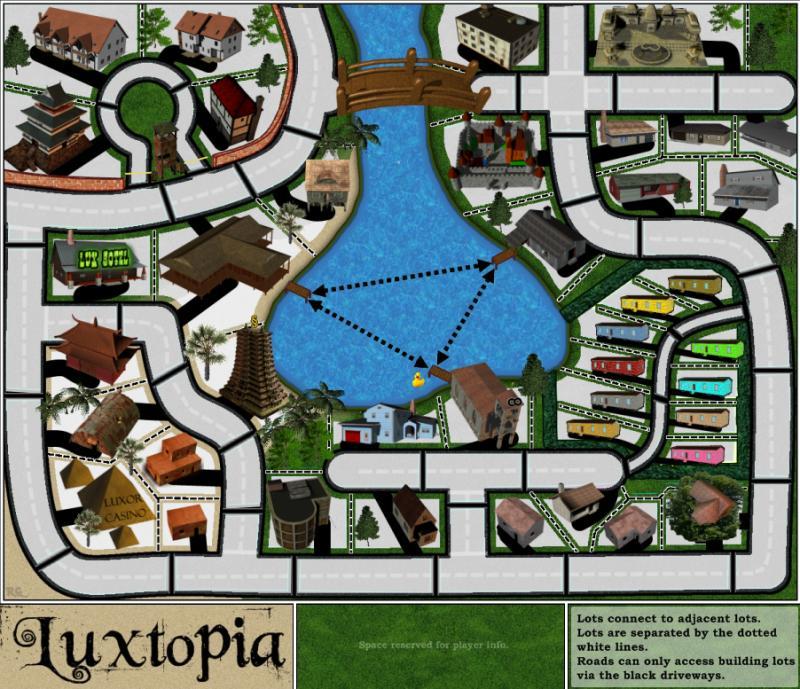 Luxtopia Map