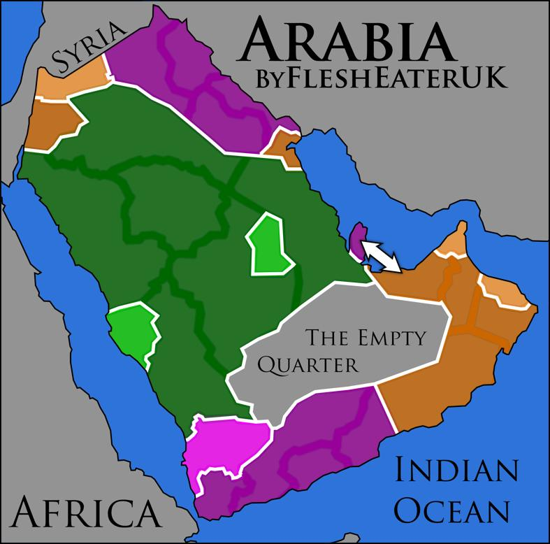 Middle East Series II - Arabia