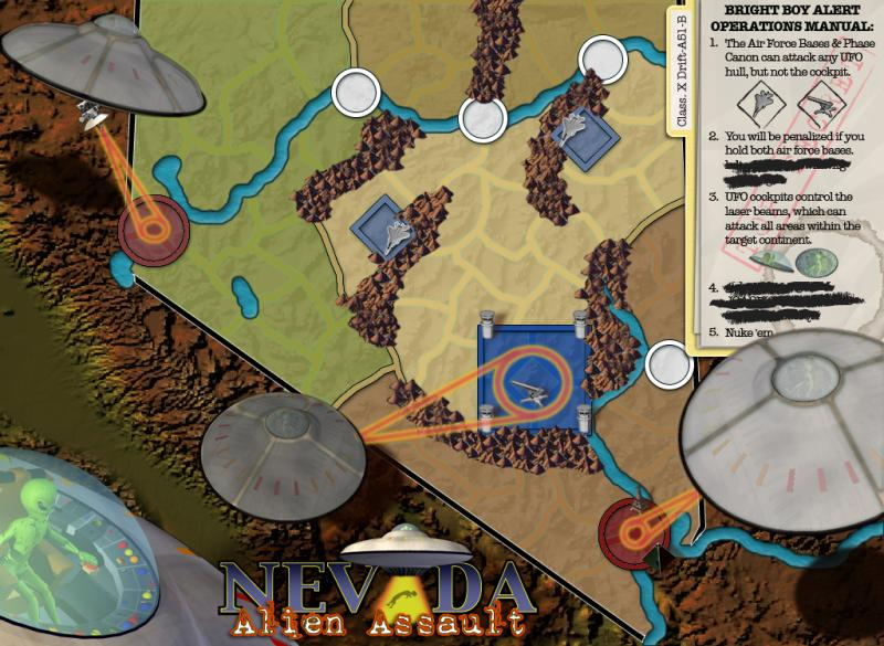 Nevada - Alien Assault Map