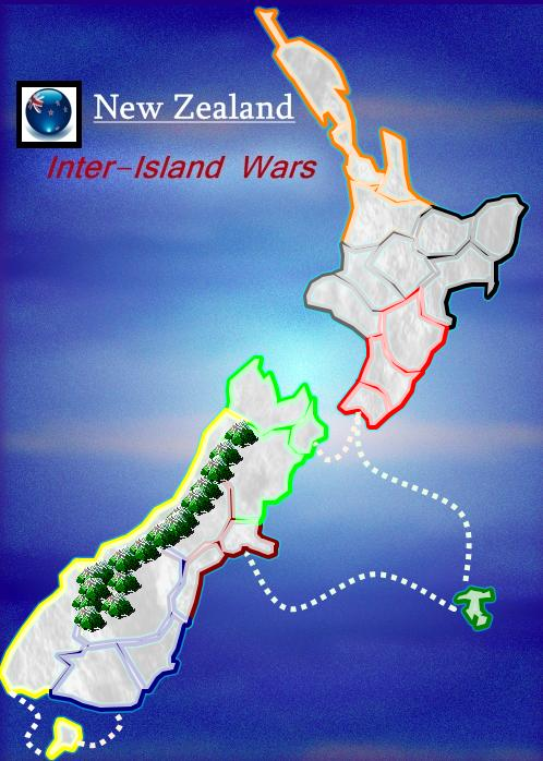New Zealand - Interisland Wars