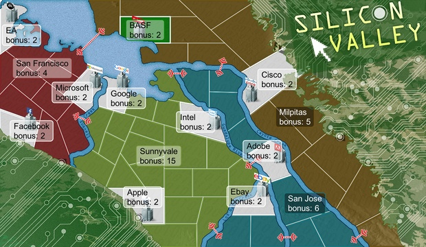 Silicon Valley HD map