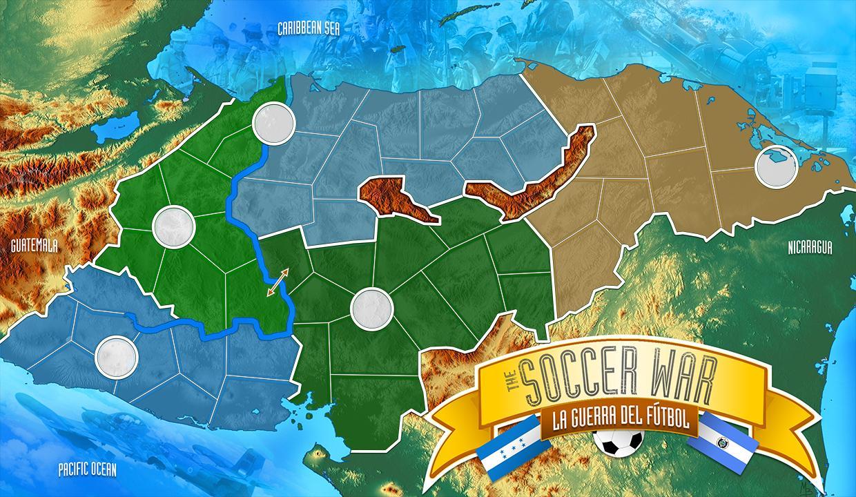 Soccer War HD Map - Nicaragua map hd