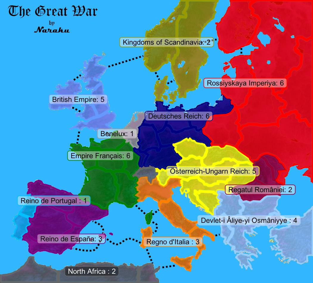 The great war map july 1914 a great war is started over the death of arch duke franz ferdinand the austro hungarian empire gives serbia an ultimate that they fail to comply gumiabroncs Choice Image