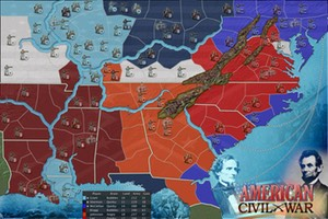 Lux Alliance - American Civil War Game Map