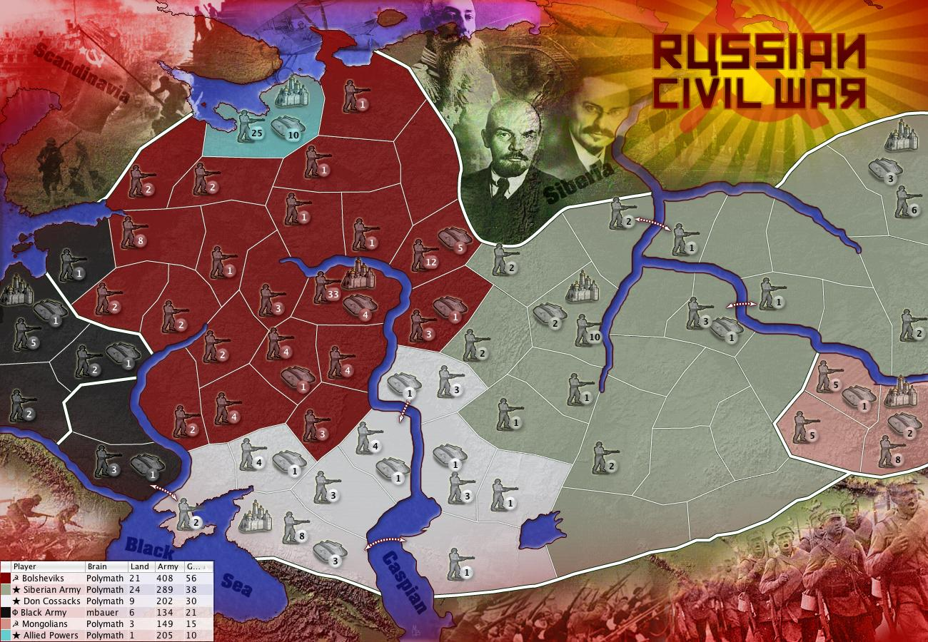 Russian civil war map more maps castle vox game info