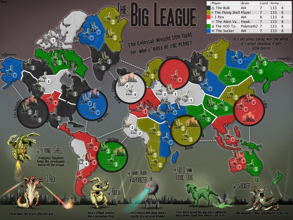 THE BIG LEAGUE