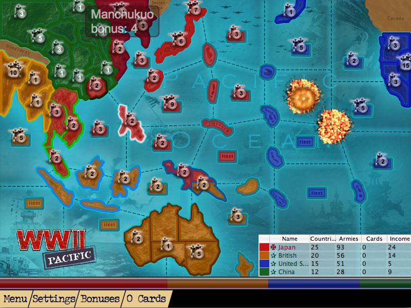 Screenshot Of U0027WWII Pacificu0027