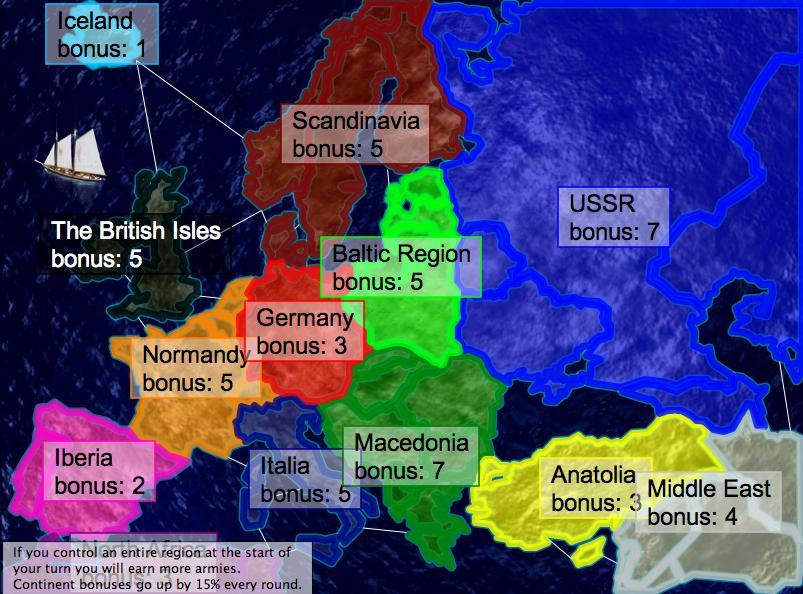 Europe 1939 Map