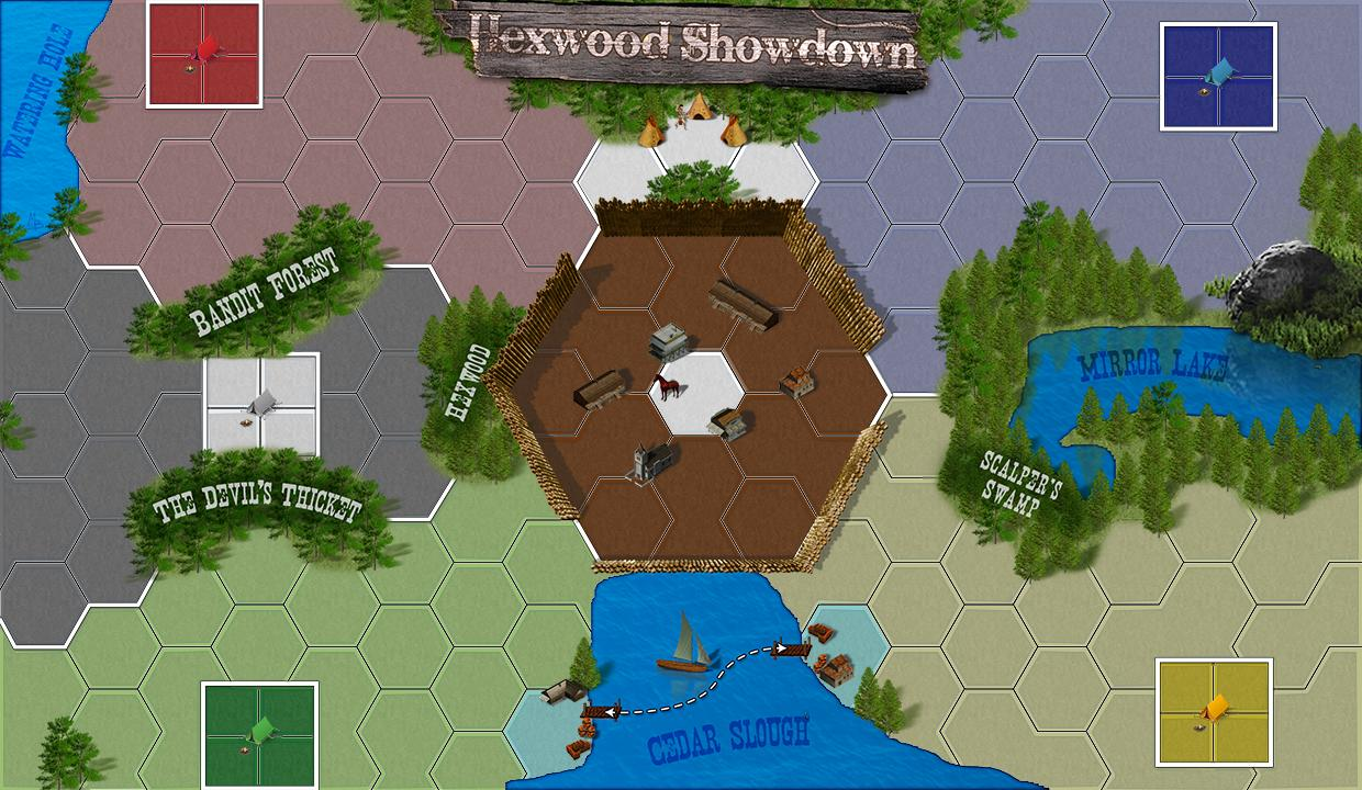 Hexwood Showdown