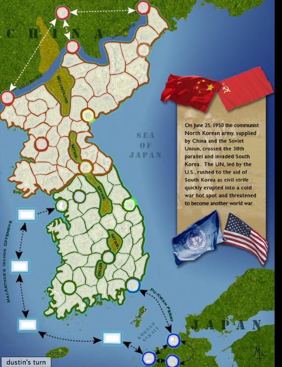Korean War Map