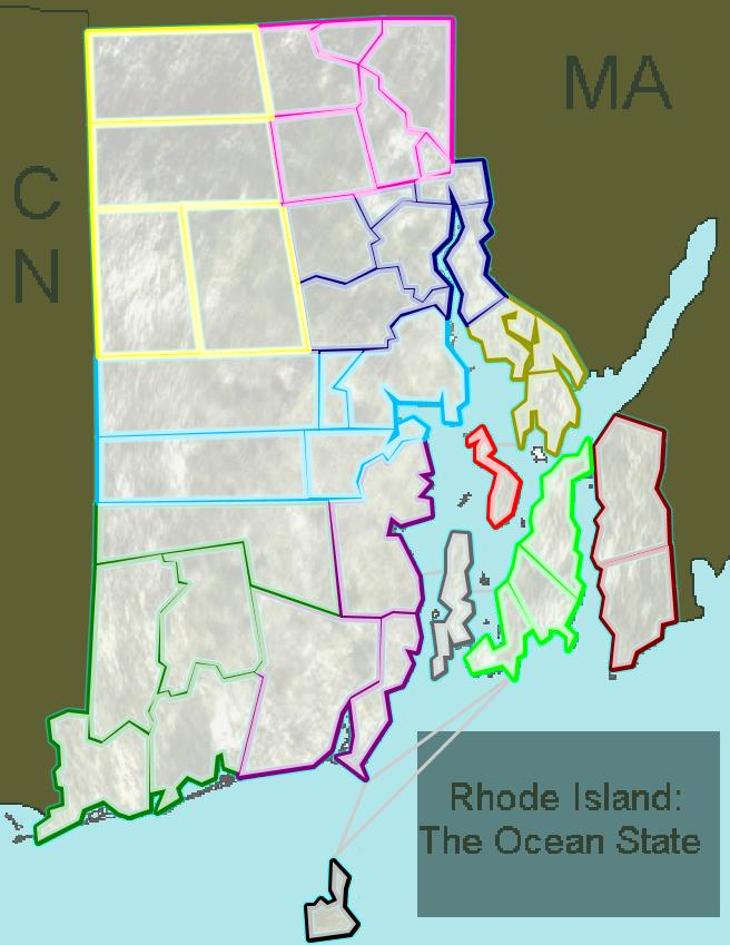 Rhode Island - The Ocean State
