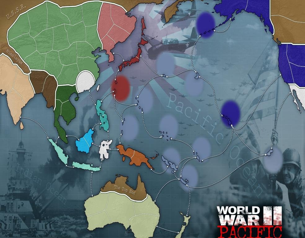 WWII Pacific Redux
