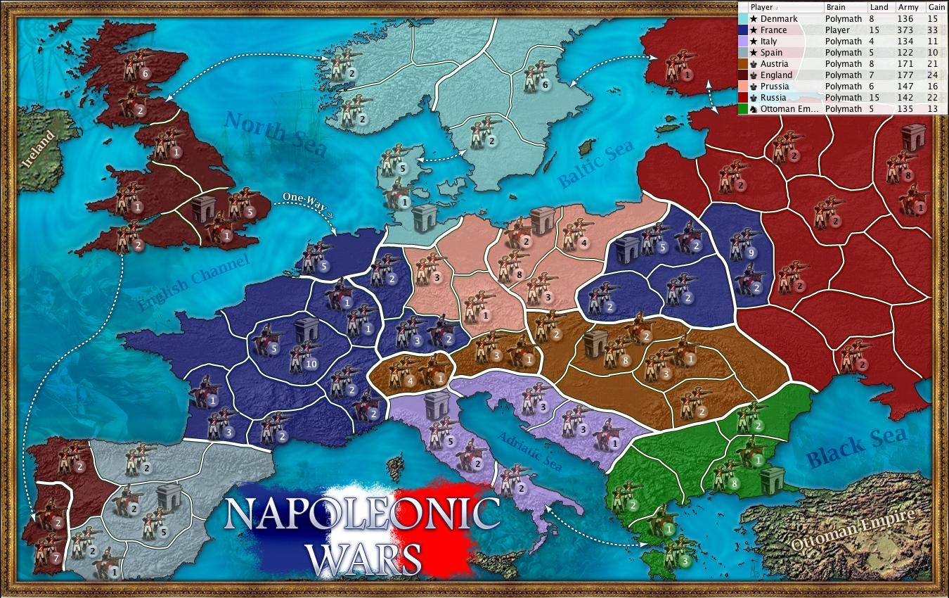 Napoleonic wars map gumiabroncs Image collections