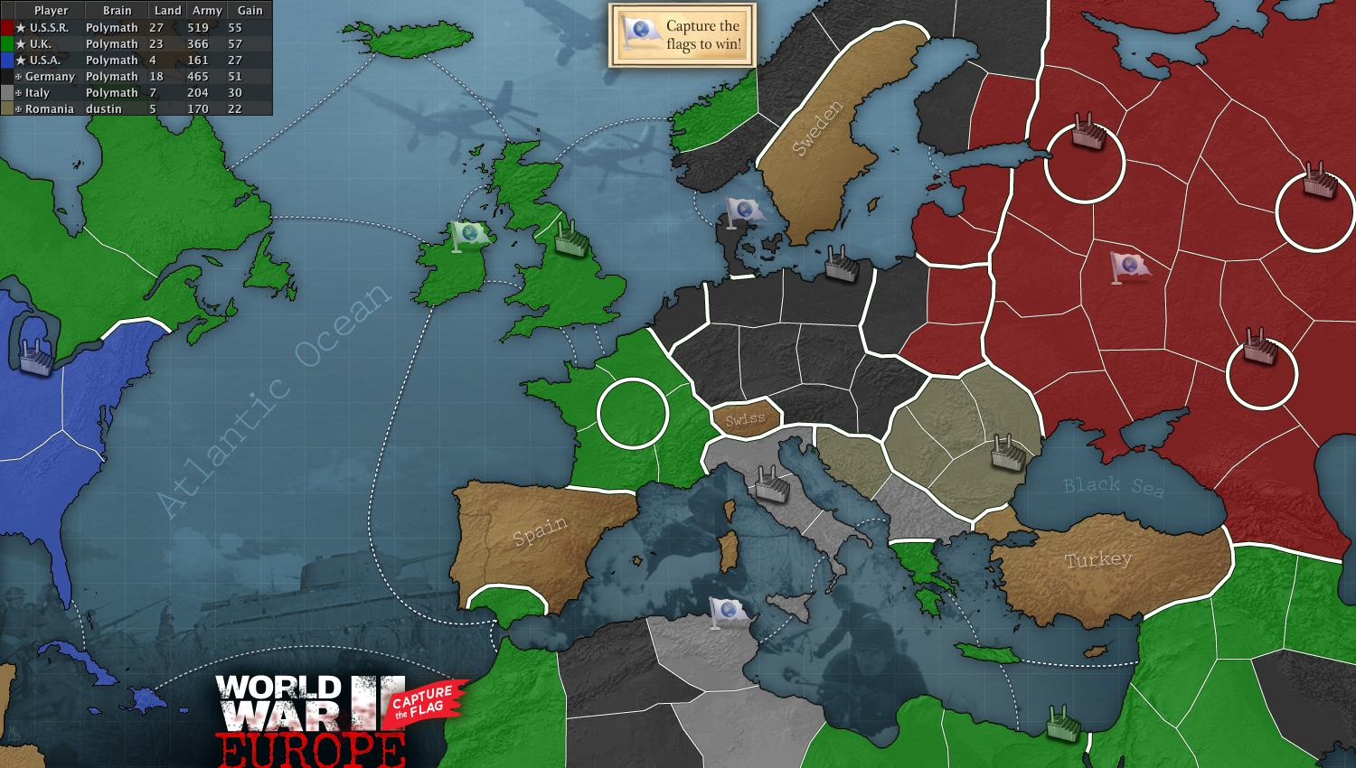 Ww2 europe ctf map gumiabroncs Choice Image