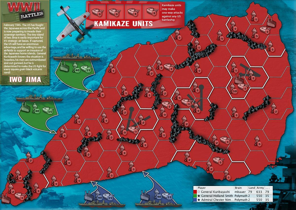 wwii battles  iwo jima map - wwii battles  iwo jima